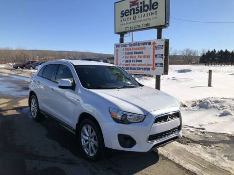 2015 Mitsubishi Outlander Sport for sale at Sensible Sales & Leasing in Fredonia NY