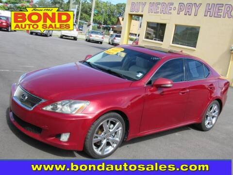 2010 Lexus IS 250 for sale at Bond Auto Sales in St Petersburg FL