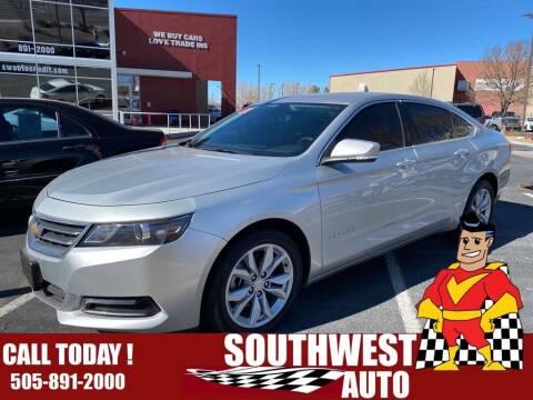 2018 Chevrolet Impala for sale at SOUTHWEST AUTO in Albuquerque NM