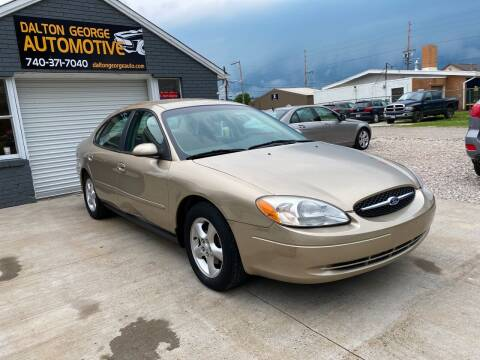 2001 Ford Taurus for sale at Dalton George Automotive in Marietta OH