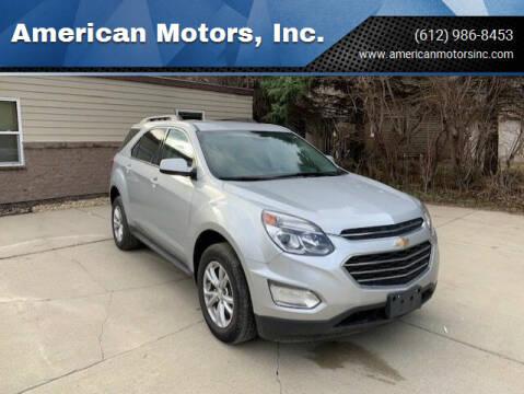 2017 Chevrolet Equinox for sale at American Motors, Inc. in Farmington MN