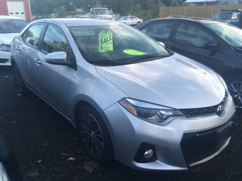 2016 Toyota Corolla for sale at MELILLO MOTORS INC in North Haven CT