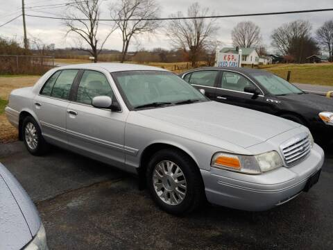 2003 Ford Crown Victoria for sale at K & P Used Cars, Inc. in Philadelphia TN