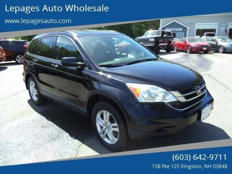 2011 Honda CR-V for sale at Lepages Auto Wholesale in Kingston NH