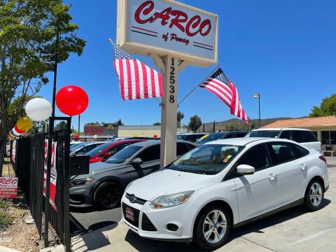 2013 Ford Focus for sale at CARCO SALES & FINANCE - CARCO OF POWAY in Poway CA