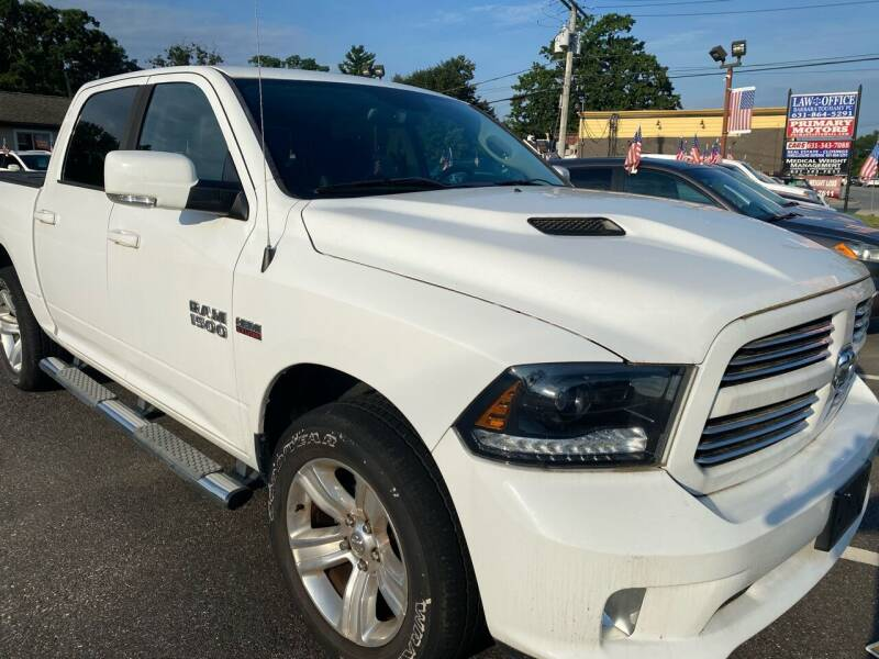 2015 RAM Ram Pickup 1500 for sale at Primary Motors Inc in Commack NY