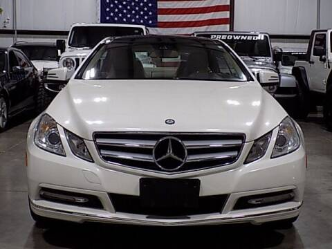 2013 Mercedes-Benz E-Class for sale at Texas Motor Sport in Houston TX