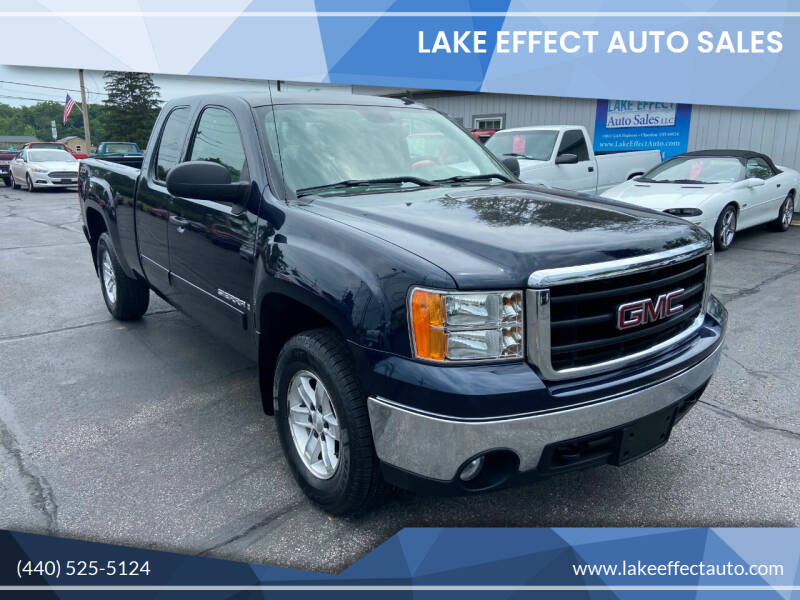2008 GMC Sierra 1500 for sale at Lake Effect Auto Sales in Chardon OH