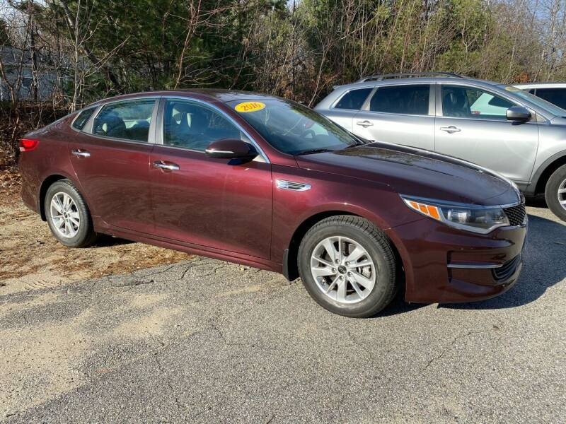 2016 Kia Optima for sale at Downeast Auto Inc in South Waterboro ME