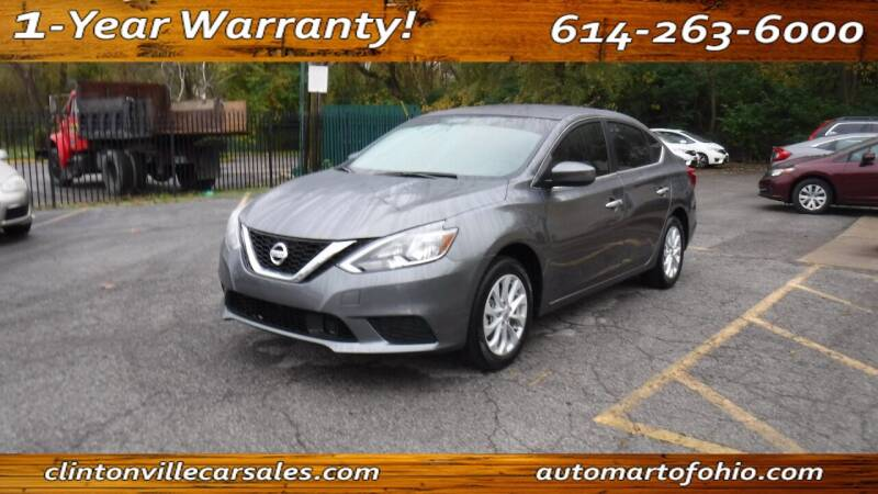 2019 Nissan Sentra for sale at Clintonville Car Sales - AutoMart of Ohio in Columbus OH