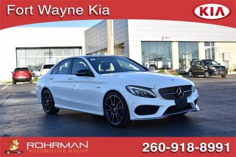 2016 Mercedes-Benz C-Class for sale at BOB ROHRMAN FORT WAYNE TOYOTA in Fort Wayne IN