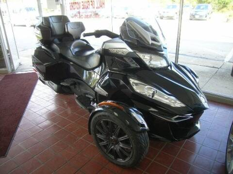 2014 Can-Am Spyder RT for sale at HALL OF FAME MOTORS in Rittman OH
