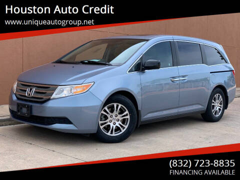 2013 Honda Odyssey for sale at Houston Auto Credit in Houston TX