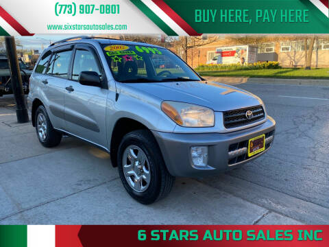 2002 Toyota RAV4 for sale at 6 STARS AUTO SALES INC in Chicago IL