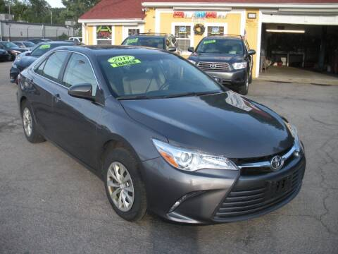2017 Toyota Camry for sale at One Stop Auto Sales in North Attleboro MA