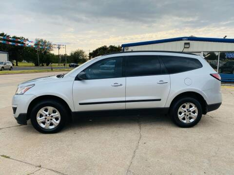 2016 Chevrolet Traverse for sale at Pioneer Auto in Ponca City OK