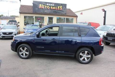 2016 Jeep Compass for sale at BANK AUTO SALES in Wayne MI