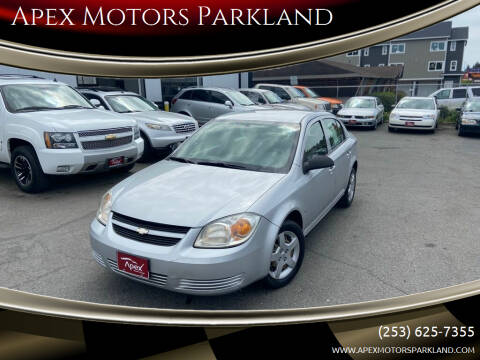 2008 Chevrolet Cobalt for sale at Apex Motors Parkland in Tacoma WA