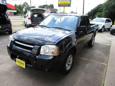 2003 Nissan Frontier for sale at Metroplex Motors Inc. in Houston TX