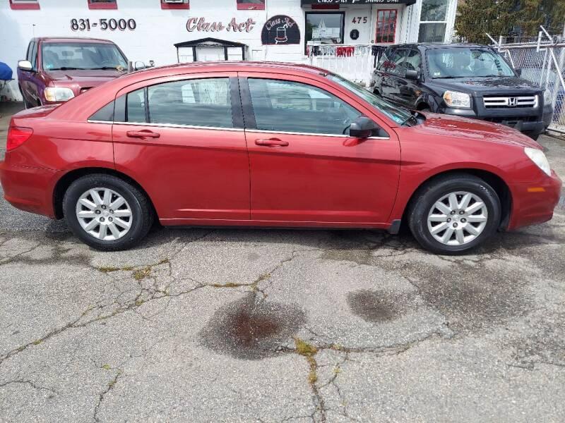 2010 Chrysler Sebring for sale at Class Act Motors Inc in Providence RI
