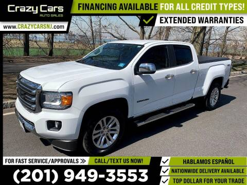 2016 GMC Canyon for sale at Crazy Cars Auto Sale in Jersey City NJ