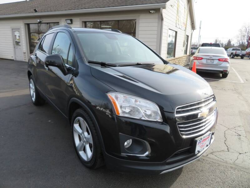 2015 Chevrolet Trax for sale at Tri-County Pre-Owned Superstore in Reynoldsburg OH