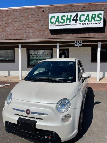 2015 FIAT 500e for sale at Cash 4 Cars in Penndel PA