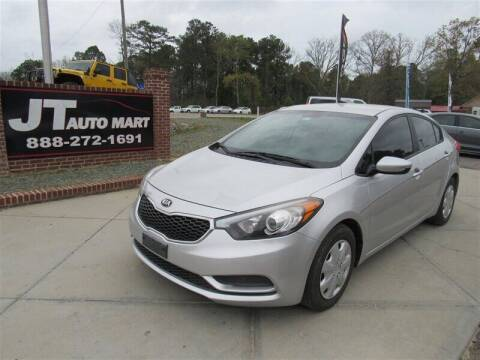 2015 Kia Forte for sale at J T Auto Group in Sanford NC