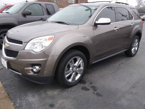 2012 Chevrolet Equinox for sale at Village Auto Outlet in Milan IL