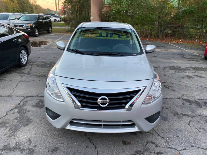 2015 Nissan Versa for sale at J Franklin Auto Sales in Macon GA