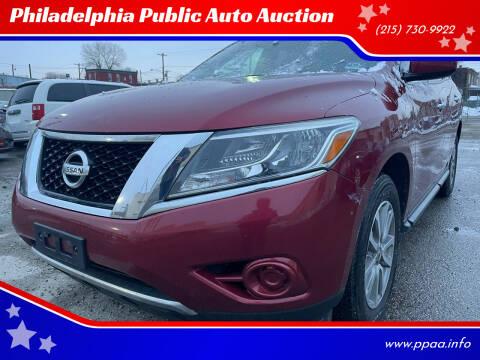 2014 Nissan Pathfinder for sale at Philadelphia Public Auto Auction in Philadelphia PA