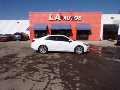 2015 Chevrolet Malibu for sale at L A AUTOS in Omaha NE