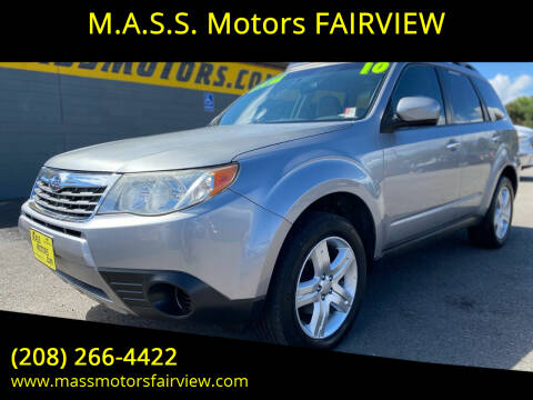 2010 Subaru Forester for sale at M.A.S.S. Motors - Fairview in Boise ID