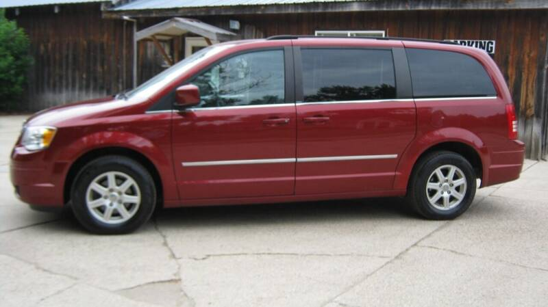 2010 Chrysler Town and Country for sale at Spear Auto Sales in Wadena MN