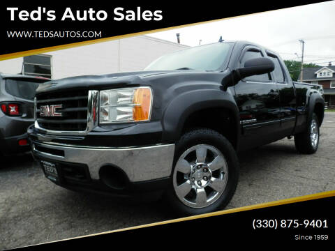 2009 GMC Sierra 1500 for sale at Ted's Auto Sales in Louisville OH