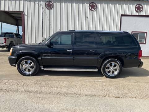 2005 Cadillac Escalade ESV for sale at Circle T Motors INC in Gonzales TX