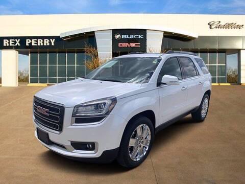 2017 GMC Acadia Limited for sale at AutoJacksTX.com in Nacogdoches TX