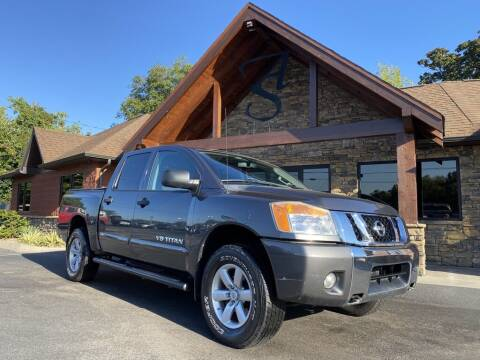 2012 Nissan Titan for sale at Auto Solutions in Maryville TN