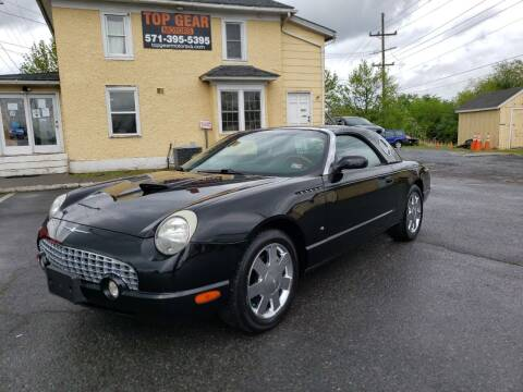 2003 Ford Thunderbird for sale at Top Gear Motors in Winchester VA