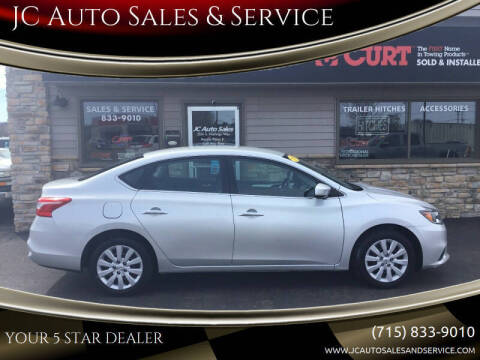 2018 Nissan Sentra for sale at JC Auto Sales & Service in Eau Claire WI