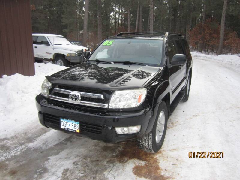 2005 Toyota 4Runner for sale at SUNNYBROOK USED CARS in Menahga MN
