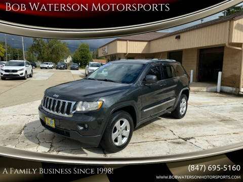 2011 Jeep Grand Cherokee for sale at Bob Waterson Motorsports in South Elgin IL