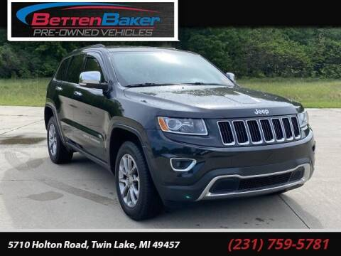 2014 Jeep Grand Cherokee for sale at Betten Baker Preowned Center in Twin Lake MI