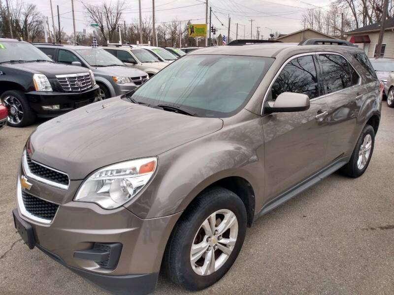 2012 Chevrolet Equinox for sale at AutoLink LLC in Dayton OH