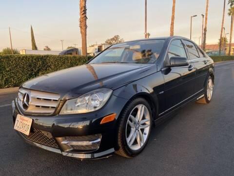 2012 Mercedes-Benz C-Class for sale at Auto Toyz Inc in Lodi CA