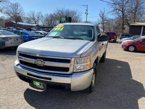 2011 Chevrolet Silverado 1500 for sale at BK2 Auto Sales in Beloit WI