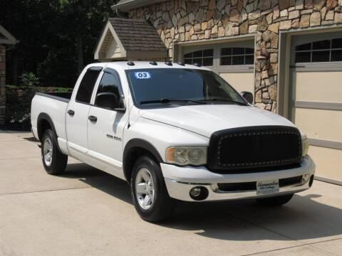 2003 Dodge Ram Pickup 1500 for sale at Hammonton Auto Exchange in Hammonton NJ