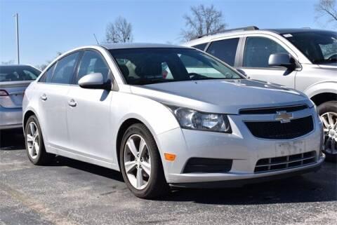 2012 Chevrolet Cruze for sale at BOB ROHRMAN FORT WAYNE TOYOTA in Fort Wayne IN