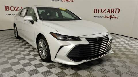 2019 Toyota Avalon for sale at BOZARD FORD in Saint Augustine FL