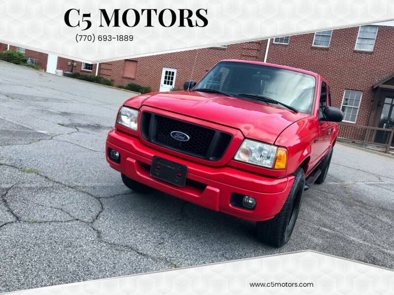2004 Ford Ranger for sale at C5 Motors in Marietta GA